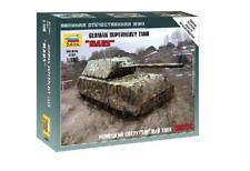 Zvezda    1/100 German Maus Heavy Tank (Snap)  ZVE6213