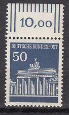 TIMBRE ALLEMAGNE  NEUF N° 371 ** PORTE DE BRANDEBOURG A BERLIN BORD DE FEUILLE