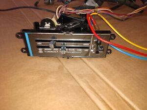 AC CONTROL PANEL 85 CUTLASS 442 SUPREME WIRE HARNESS VACUUM HARNESS OLDSMOBILE