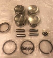 MG MGB 1800 Engine Set of 4 Pistons and Rings Plus 30 CIRCLIP FIT 4 Ring