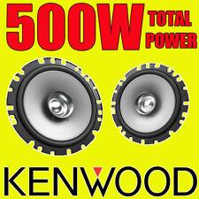 Kenwood 500W total dualcone 6.5 pulgadas 16.5cm Puerta Del Coche Par Altavoces Coaxiales/Estante