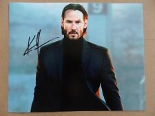 "Keanu Reeves Signed :Autographed Photo ""Matrix"""