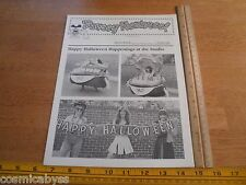 Disney Newsreel WED MAPO Employees mag 1982 Halloween Costumes Kermit party