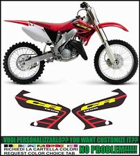 kit adesivi stickers compatibili cr 125 r 2002
