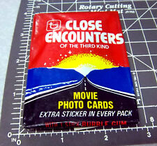 Topps Close Encounters of the third kind Movie collectors cards, new in package,