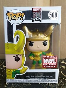 Funko Pop Vinyl - Marvel #508 Loki - New - 1st Appearance - Collector Corps Excl