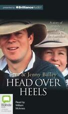 Head over Heels by Sam Bailey and Jenny Bailey (2013, CD, Unabridged)