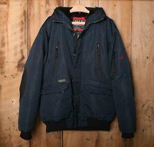 J. WHISTLER & CO. 'Summit Peak' Blue Down Insulated Winter Jacket Parka Sz. XXL