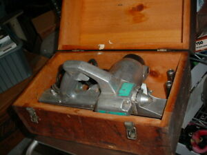 Rockwell Wood Planer Model 4692 With Wooden Case