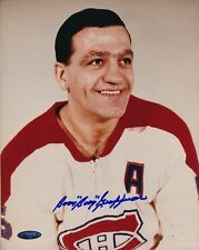 Boom Boom Geoffrion Canadiens Signed 8x10 Photo Autograph Auto TriStar