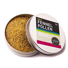 Fennel Pollen (28g) Wild Herb, Spice & Seasoning, Vegetarian, Organic