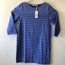 Vineyard Vine Womens Long Sleeve Shirt Dress RN134578 Pullover Medium Marlin NWT