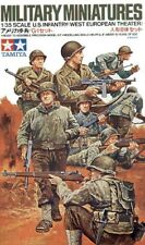 Tamiya 1/35 WWII US Infantry European Theatre # 35048