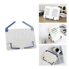 1pc Portable Book Document Foldable Stand Reading Desk Holder Bookstand