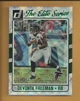 Devonta Freeman 2016 Donruss Elite Series Card #8 serial #d /999 Atlanta Falcons