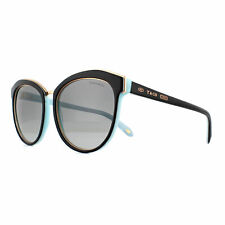Tiffany & Co. 0tf4146 56 UK Luxury Sunglasses Made in Italy - TF 4140 80553c Black/blue