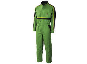 John Deere Synfiber Adults Green Overalls Boilersuit Sizes 46 48 62 - S1040610
