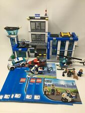 LEGO City 60047 Police Station 854 Pieces w/ Instructions Used