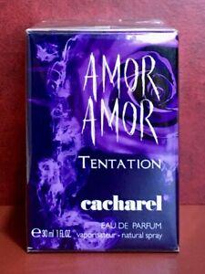 AMOR AMOR TENTATION EDP de Cacharel 30ml. ORIGINAL (Last unit)