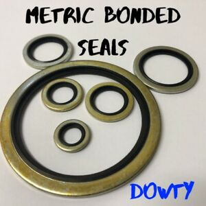 Bonded seals (Dowty Seal) Self Centering Hydraulic Oil Seal Washer Metric