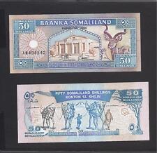 Somaliland p-7a , UNC, 50 Shillings, 1996 , Signature no.1