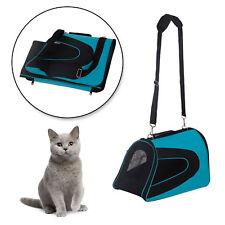 Transportin Perro Gato Mascotas Bolsa de Viaje Asas y Correa ajustable NUEVO