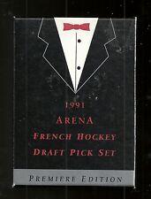 1991 Arena Hockey Dratf Pick 33-card Set (French Version)  Forsberg +++