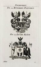 1832 stemma di hoverden-plencken Iacobi klöst RAME tyroff chiave