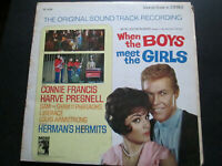 When The Boys Meet The Girls Original Soundtrack MGM SE 4334 lp vinyl record