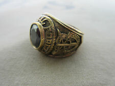 US Army Special Forces USMC Marines Navy Nam INSIGNIA Anello Nam PX Sterling Taglia 64