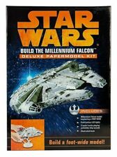 Star Wars Build The Millennium Falcon Deluxe Papermodel Kit