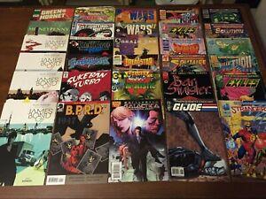 Huge lot of 60 INDIES Comic Books JAMES BOND BPRD SABLE PROMETHEA MORE! 002