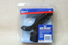 Attwood RH-46 Heavy Duty 2 in 1 Rod Holder Secures Spinning & Casting Rods Free