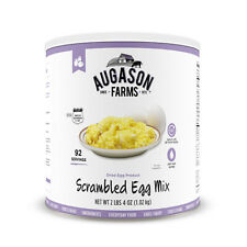Survival Supply Dried Scrambled Egg 4 oz Can 92 Servings Emergency Food Storage