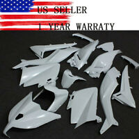 Unpainted White Fairing Kit for Yamaha TMAX530 2012-2014 ABS Injection Bodywork