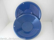 """(2) SE 14"""" PANNING GOLD PAN - BLUE"""