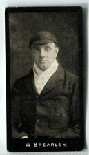 More details for tobacco card, f & j smith,cricketers,cricket,1st series,1912,walter brearley,#46