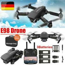 WiFi FPV Drohne Faltbar 1080P 4K Kamera 3 Batterie Quadrocopter Selfie RC Drone