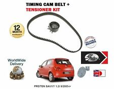 FOR PROTON SAVVY 1.2 D4F ENGINE 9/2005-> NEW TIMING CAM BELT + TENSIONER KIT