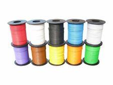100 m LIY Kabel Litze weiß 0,14 mm² flexibel Kupferlitze Schaltlitze