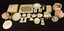 Lot of Pfaltzgraff De'cor Items & More Picture Frame Candle Holder Magnets sk