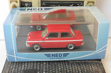 DAF 55 MARATHON RED 1971 VARIOMATIC NEO 49529 1/43 ROSSO ROUGE ROT LHD LEFT HAND