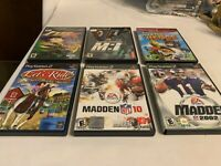 Lot of 6 Play Station 2 Games Complete in Box Tested See Pictures for Titles