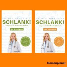 Anne Fleck I Schlank! und gesund mit der Doc Fleck Methode + Kochbuch im Set