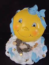 Charming Tails Moon & Stars Bank Mouse Blue Ribbon Boy Theme #93/614