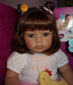 """NEW ADORA 20"""" TODDLER TIME DOLL SPRING CHICK"""