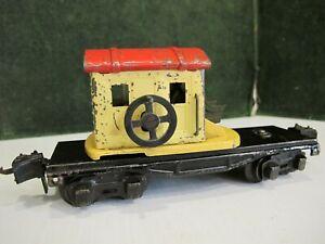 prewar O gauge Lionel # 2660  Crane car .great parts repair item