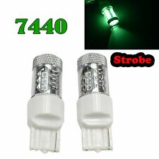 Strobe T20 7440 7441 992 W21W 12V 80W Green LED Front Signal Light M1 GM BAU