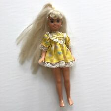 Barbie Little Sister Stacie Doll 1991 Blonde 90s Kids Toy Collectible