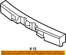 Lincoln FORD OEM 07-10 MKX Bumper Face-Foam Impact Absorber Bar 7A1Z17E855B